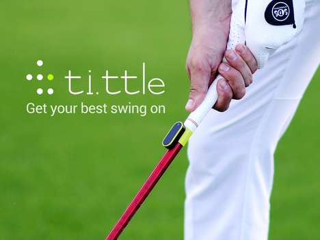 Connected Golf Gadgets - The ti.ttle Golf Swing Analyzer Keeps Track of Your Swing and Technique