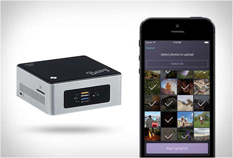 Cloud Photo Devices - The Bevy Digital Photo Album Storage System Makes Photography Streamlined