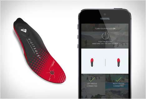 Smartphone-Connected Insoles - Digitsole Smart Heated Insoles Keep Feet Toasty All Winter Long