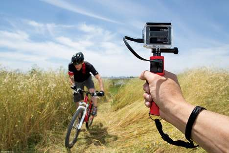 Backup Battery Camera Grips - The Joby Action Battery GoPro Mount Holds and Charges Devices