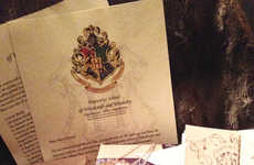 Wizard School Acceptance Letters - This Harry Potter Gift Box Gets Recipients Ready for Hogwarts