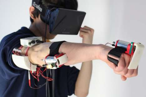 Sensitive VR Armbands - This Concept Device Turns the VR Experience into a Physical One