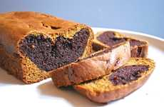 Chocolaty Pumpkin Loaves - This Pumpkin Bread Contains a Rich Chocolate Filling