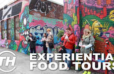 Foodies on Foot Elevates Eating with Immersive Environments