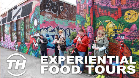Experiential Food Tours - Foodies on Foot Elevates Eating with Immersive Environments
