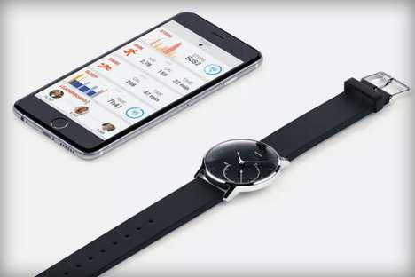 Versatile Fitness Trackers - The New Activité Steel From Withings Combines Luxury With Low Prices