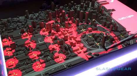 Smart City Projections - Here Translates Big Data Through 3D Mapping Tools