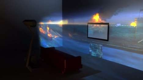 Immersive VR Projectors - Immersis Creates a 180 Degree Viewing Experience for Users