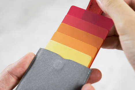 Cascading Pull Tab Wallets - The 'Dax Wallet' Makes It Easier to Access Credit Cards and ID Cards
