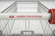 Sanitizing Shopping Discs - This Device Disinfects Shopping Cart Handles In Between Customers