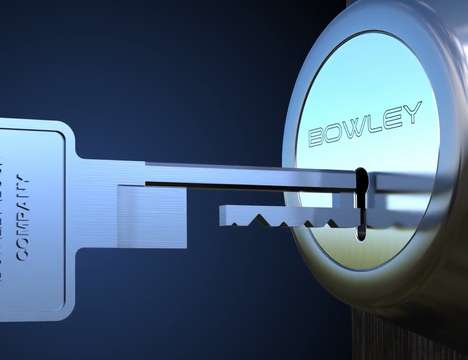 Anti-Tampering Deadbolt - The Bowley Lock is a Home Security Door Lock Designed for Performance