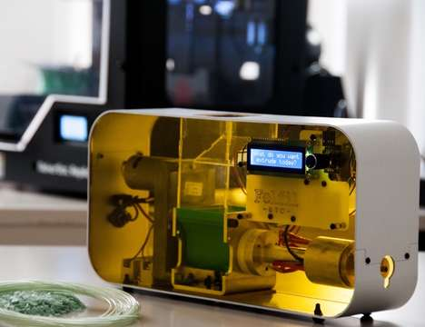 Filament-Making Appliances - The Felfil Evo 3D Printer Filament Extruder Can Repurpose Plastic Waste