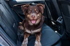 Backseat Dog Beds - The Stayjax Stealth Dog Car Seat Keeps Your Dog Happy and Your Seats Clean