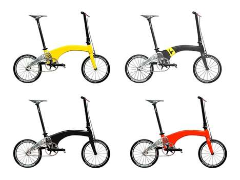 British Carbon Fiber Bikes - HUMMINGBIRD Folding Bicycles are the Lightest Design on the Planet