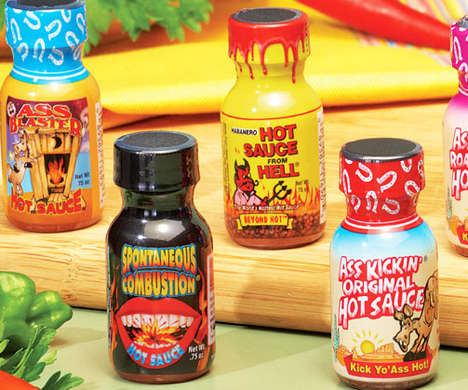 Spicy Sauce Variety Packs - This Hot Sauce Challenge Pack Comes with 12 Different Flavors in All