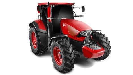 Supercar-Inspired Tractors - The Concept Zetor Tractor Brings Style To a Rugged Vehicle