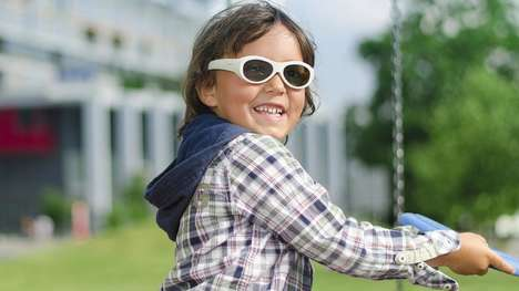 Lazy Eye-Correcting Glasses - The Amblyz Electronic Glasses Could Resolve Amblyopia in Children