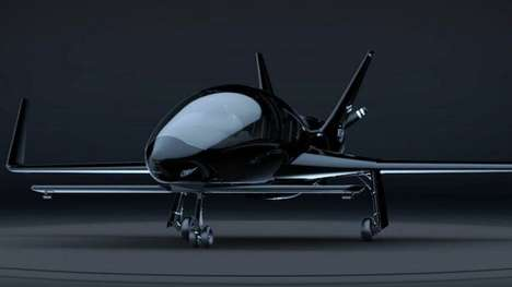 Sophisticated Personal Aircraft - The Cobalt Valkyrie Models Feature Sleek and Thoughtful Design