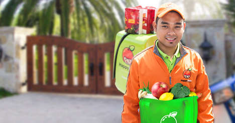 Fresh Grocery Delivery Services - HappyFresh Gets Southeast Asian Consumers Produce in Just One Hour