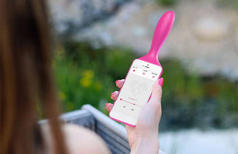 Adult Toy Phone Cases - 'IZIVIBE' is the World's First Phone Case and Pleasuring Device