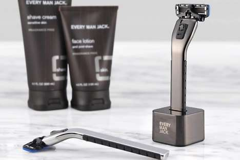 Olive Oil-Infused Razors - The Every Man Jack Manual Razor is Designed with Natural Ingredients