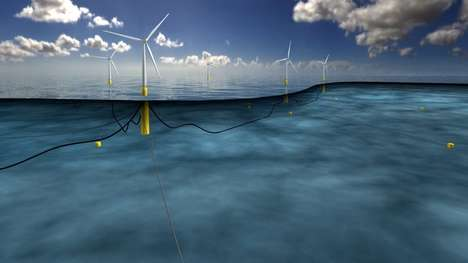 Floating Wind Farms - Hywind Pilot Park Will Take Advantage Of the North Sea Winds