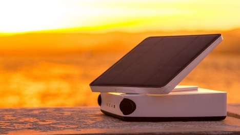 Time-Lapse Cameras - The Tikee Camera System Can Be Powered By Its Own Solar Panel