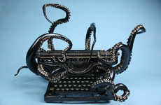 Antiquated Tentacle Typewriters