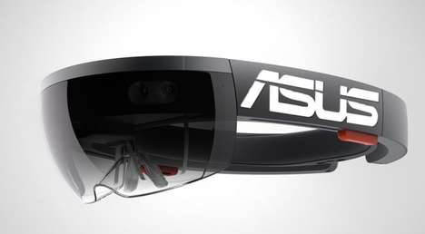 Affordable AR Headsets - The Asus Augmented Reality Headset is Set for a 2016 Release