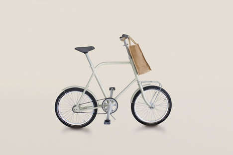Hanging Commuter Bikes - The Corridor Bicycle Model is Meant to be Stored on a Wall to Save Space
