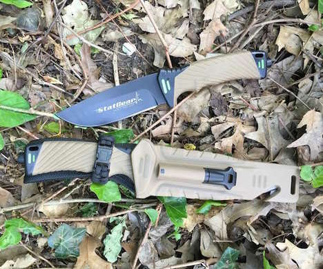 Fire-Starting Knives - The Surviv-All Outdoor Knife is Capable of Cutting and Much More