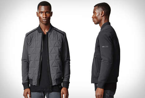 Dual-Purpose Outerwear - The ISAORA Reversible Bomber Jacket Can Be Worn in Multiple Ways