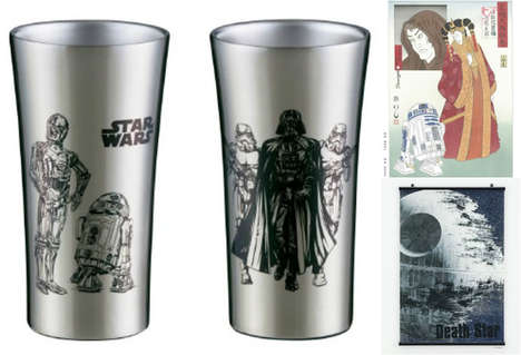 Sci-Fi Home Accessories - The Otsuka Kagu Just Launched a Line of Star Wars Furnishings