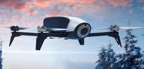 Efficiently Fast Drones - The Parrot Bebop 2 Features Enhanced Battery Life and a 37mph Top Speed