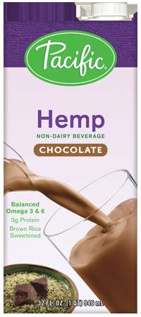 Rice-Sweetened Milks - Pacific Foods Hemp Milks Come in a Variety of Alternative Flavor Options