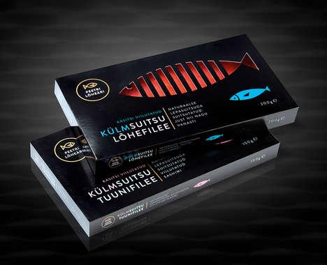 15 Seafood Packaging Designs