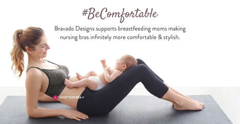Yoga Nursing Bras - Bravado Designs' Body Silk Seamless Yoga Nursing Bra Caters to Active Women