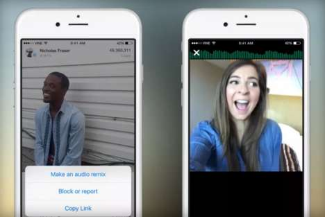 Audio Remixing Video Apps - Video-Capturing Platform Vine is Allowing Users to Customize the Audio