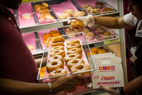 Loyalty Donut-Ordering Apps - Dunkin' Donuts is Testing Out a Menu App for On-the-Go Ordering