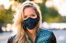Fashion-Forward Breathing Masks - Airinum Designed Stylish Urban Masks That Filter Air Pollution