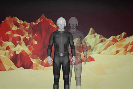 Virtual Reality Suits - The Tesla Suit Simulates Full-Body Touch, Climate Control and Motion Capture