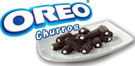 Creamy Cookie Churros - 'Oreo Churros' is Meant to Be a Delicious Grab and Go Snack for All Ages