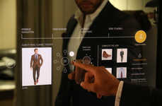 Interactive Fitting Rooms - These Smart Dressing Rooms are Equipped with Advanced Technology