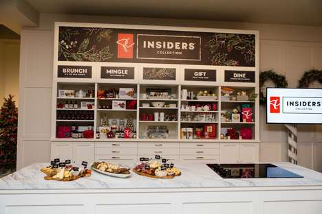 Branded Pop-Up Pantries - The President's Choice Pop-Up is Helping Consumers Prepare Holiday Meals
