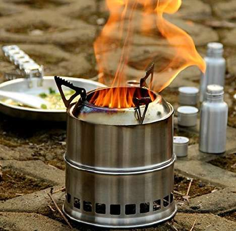 36 Examples of Barbecue Equipment - From Bandit BBQ Utensils to Portable Propane Carriers