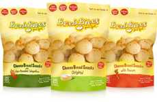 Breaded Cheese Bites - Brazi Bites' Gluten-Free Snacks Meld Crisp and Cheesy Flavors