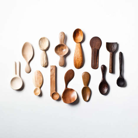 Carved Spoon Collections - This Artist Designed a Different Spoon for Each Day of the Year
