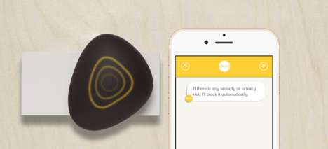 Pebble-Shaped Security Systems - This Decorative Pebble Helps Consumers Surf the Web Safely