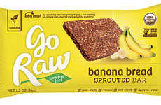 Raw Banana Bread Bars - This Raw Banana Bread Bar is a Quick and Easy Portable Snack