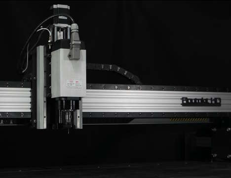 At-Home Manufacturing Machines - The Routakit CNC Kit Cuts Plastic, Glass, Wood, Metal and More